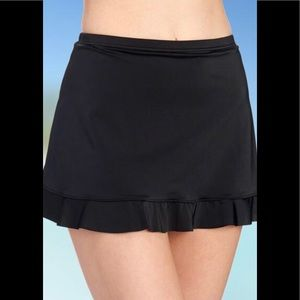 NWT Caribbean Joe swim skirt size 16